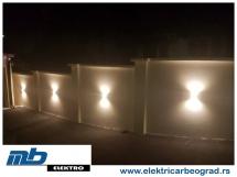 osvetljenje-ograde-ugradnja-beograd-električar-beorad-2