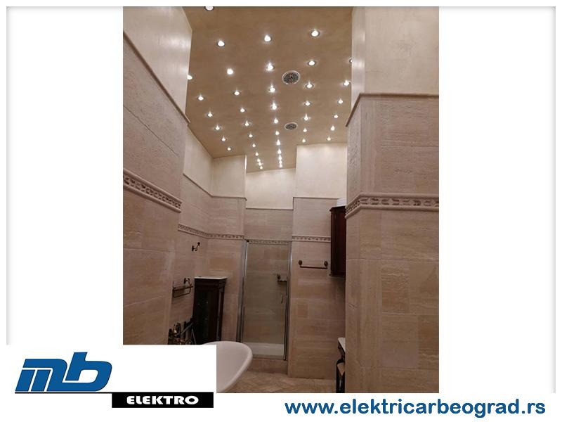 Zamena osvetljenja u kupatilu - Električar Beograd Tim