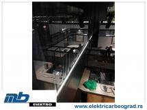 Ugradnja osvetljenja u klubu-2 - Električar Beograd Tim