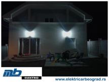 osvetljenje-na-fasadi-kuće-električar-beograd-tim