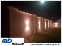 osvetljenje-ograde-ugradnja-beograd-električar-beorad