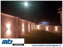 osvetljenje-ograde-ugradnja-beograd-električar-beorad-3