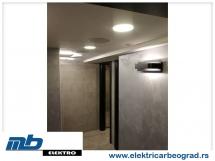Ugradnja osvetljenja klub - Elektricar beograd tim
