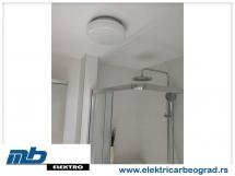 Ugradnja plafonjerke u kupatilu - Električar Beograd Tim