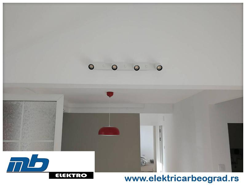 Ugradnja spot osvetljenja - Električar Beograd Tim