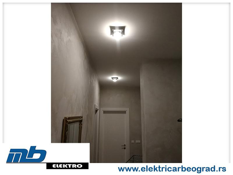 Osvetljenje-hodnik -električar-Beograd-Tim