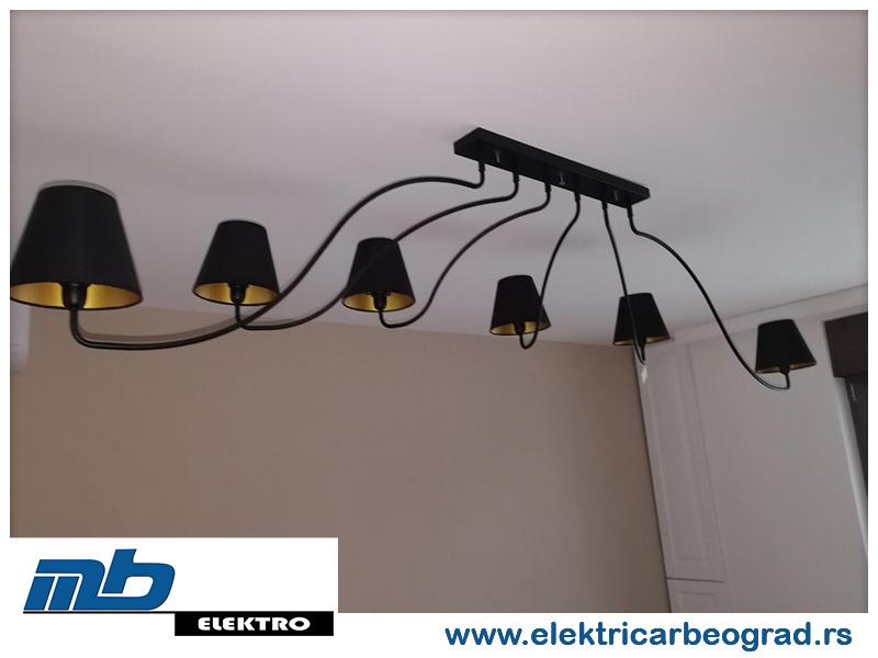 Montaža osvetljenja u stanu - Električar Beograd Tim
