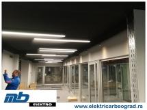 Ugradnja osvetljenja lokal - Beograd - Elektricar Beograd Tim