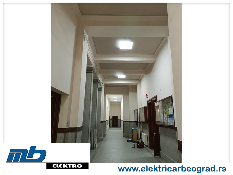 Ugradnja osvetljenja Beograd - Električar Beograd Tim-6