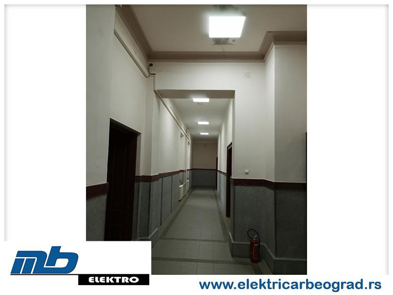 Ugradnja osvetljenja Beograd - Električar Beograd Tim-7