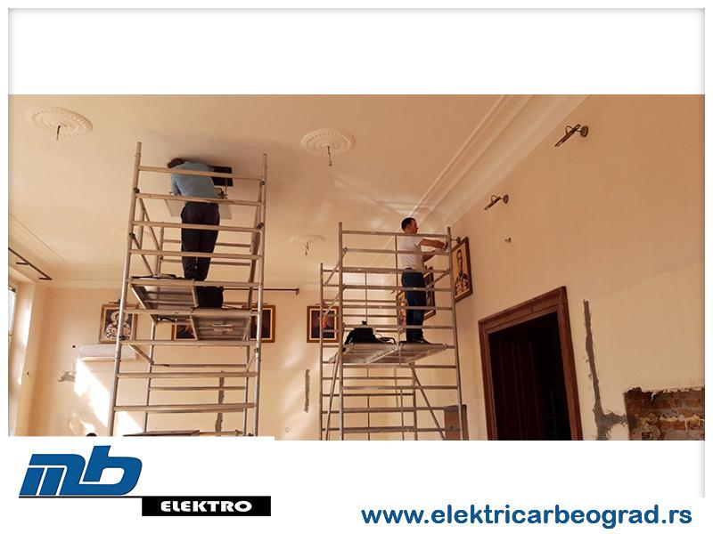 Montaža osvetljenja Beograd - Električar Beograd Tim